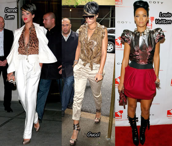Rihannas Fashion