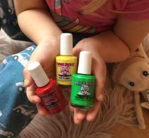 Non-Toxic nail paints for kids