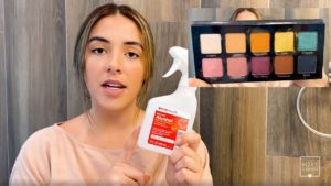 How to Clean Makeup Palettes